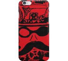 Steampunk Face iPhone Case/Skin