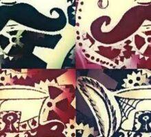 Steampunk Faces  Sticker