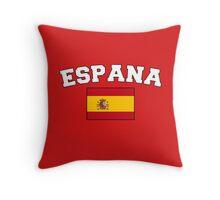 Espana Spain Supporters Throw Pillow