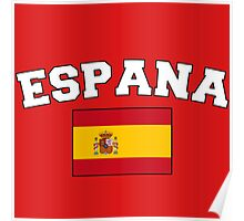 Espana Spain Supporters Poster