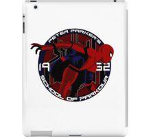 Spider Man - Peter Parker's School of Parkour iPad Case/Skin
