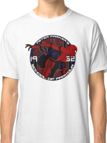 Spider Man - Peter Parker's School of Parkour Classic T-Shirt