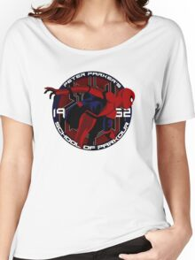 Spider Man - Peter Parker's School of Parkour Women's Relaxed Fit T-Shirt