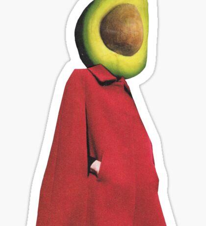 Rootless 2 (avocado) Sticker