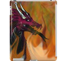 Draco de montibus iPad Case/Skin