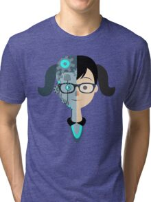 The Double women Tri-blend T-Shirt