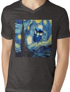 Van Gogh Mens V-Neck T-Shirt