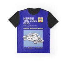 Haynes Manual - Herbie the Love Bug - T-shirt Graphic T-Shirt