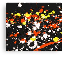 Rain - Warm (Abstract, 6 of 6) Canvas Print