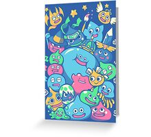 Slime Party!  Greeting Card