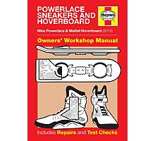 Haynes Manual - Hoverboard - Poster and stickers Photographic Print