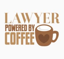 LAWYER powered by coffee Baby Tee