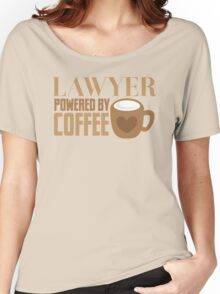 LAWYER powered by coffee Women's Relaxed Fit T-Shirt