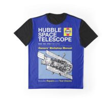 Haynes Manual - Hubble Space Telescope - T-shirt Graphic T-Shirt