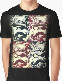 Steampunk Faces  Graphic T-Shirt