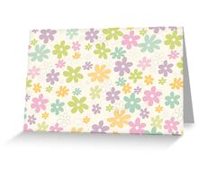 Flowers pattern Greeting Card