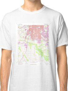 USGS TOPO Map Alabama AL Montgomery South 304596 1958 24000 Classic T-Shirt