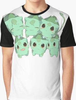bunch of bulbasuars Graphic T-Shirt