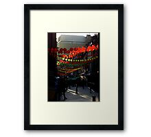 Chinese New Year. Framed Print