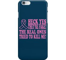 Breast Cancer iPhone Case/Skin