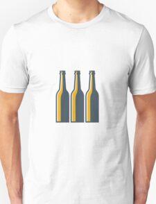 Beer Bottles Retro Unisex T-Shirt