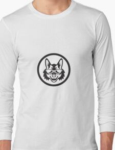 Coyote Sunglasses Circle Retro T-Shirt
