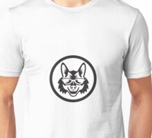 Coyote Sunglasses Circle Retro Unisex T-Shirt