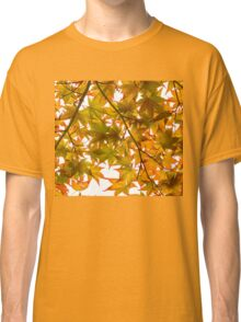 Under the Japanese Maple - Impressions Of Fall Classic T-Shirt