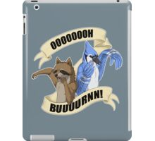 Regular Show - Buuurnn iPad Case/Skin