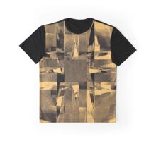 Abstract vintage yellow halftone Graphic T-Shirt