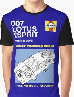 Haynes Manual - 007 Lotus Esprit- T-shirt Graphic T-Shirt