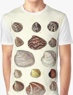 Thesaurus conchyliorum Monographs of genera of shells George Brettingham Sowerby 1887 V1-V5 164 Graphic T-Shirt