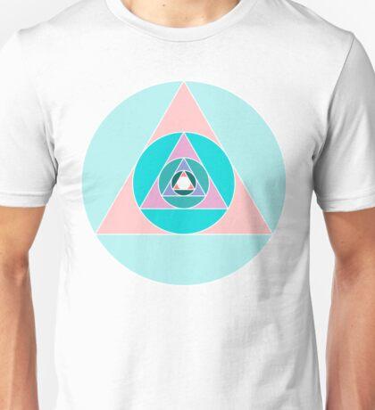 Triangle Circle Unisex T-Shirt