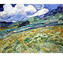 Vincent van Gogh Landscape from Saint-Remy Photographic Print