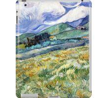 Vincent van Gogh Landscape from Saint-Remy iPad Case/Skin