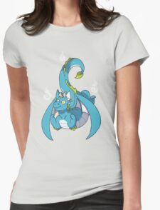 Fiery dragon Womens Fitted T-Shirt