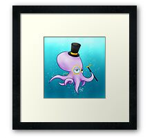 Octo Sir Framed Print