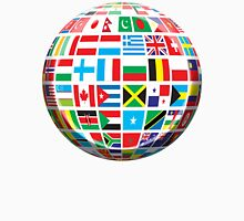World, Flags of the Globe, Flags, Globe, Peace Unisex T-Shirt