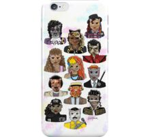 80s Cats iPhone Case/Skin