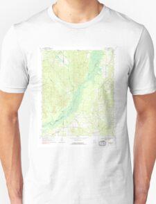 USGS TOPO Map Alabama AL Romulus 304978 1970 24000 T-Shirt