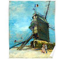 Vincent van Gogh Le Moulin de la Galette Poster
