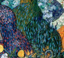 Vincent van Gogh Memory of the Garden at Etten Sticker