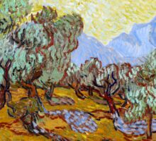 Vincent van Gogh Olive Trees Sticker
