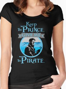 Captain Hook OUAT Shirt Women's Fitted Scoop T-Shirt