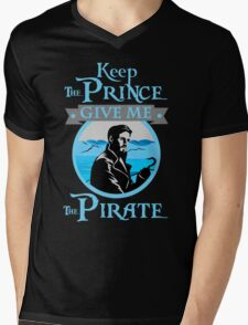 Captain Hook OUAT Shirt Mens V-Neck T-Shirt