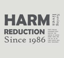 Harm reduction 1986 by Nigel  Brunsdon