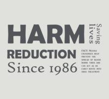 Harm reduction 1986 by Nigel  Brunsdon
