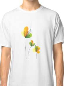 Abstract Flowers Classic T-Shirt
