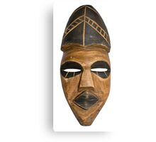 African Tribal Mask Canvas Print