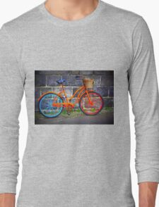 Bicycle in Iceland Long Sleeve T-Shirt